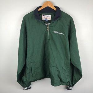 Vintage Champion Nylon 1/4 Zip Jacket